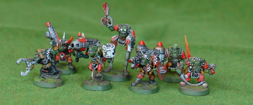 A mob of OOP space orks