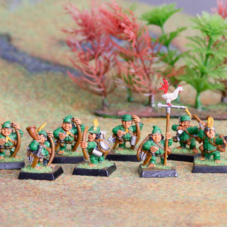 Lumpin Croops Halflings -- a Dogs of War Regiment of Renown