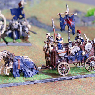 Skeletal War Wagon / Corpse Cart from RAFM