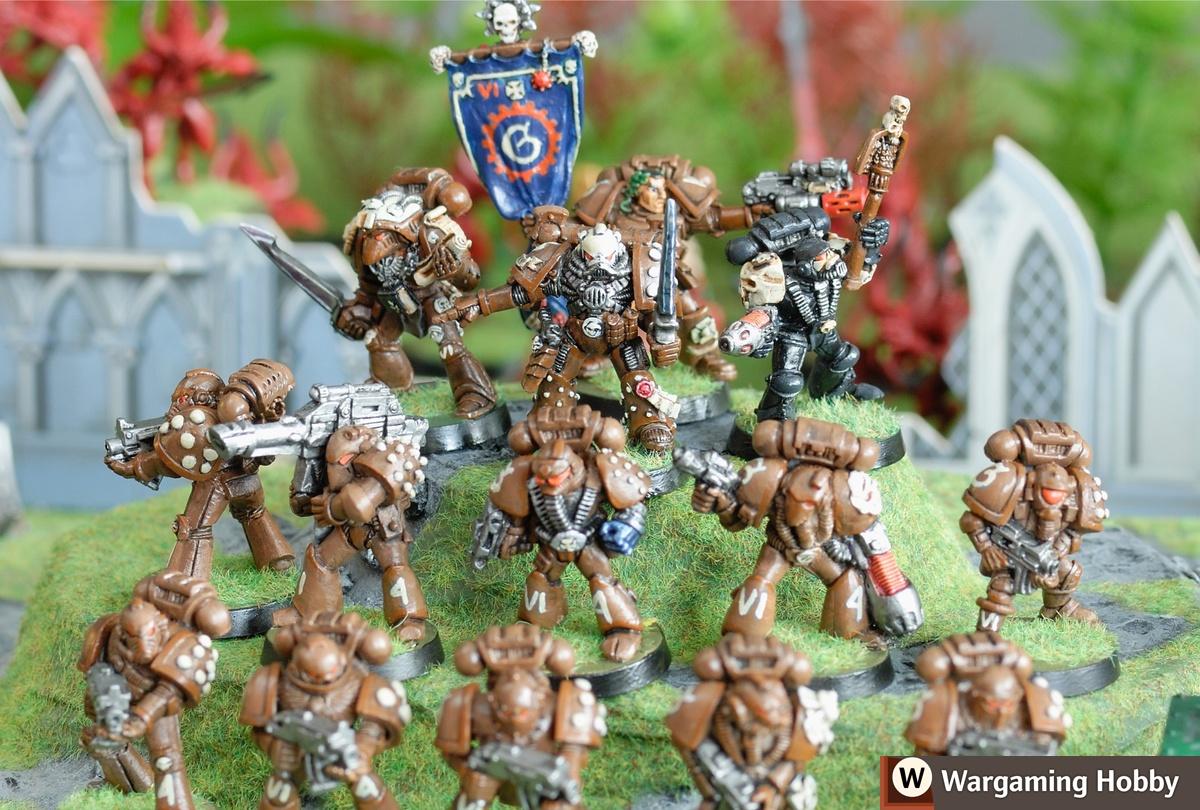 Painting Warhammer 40k Space Marines Wargaming Hobby