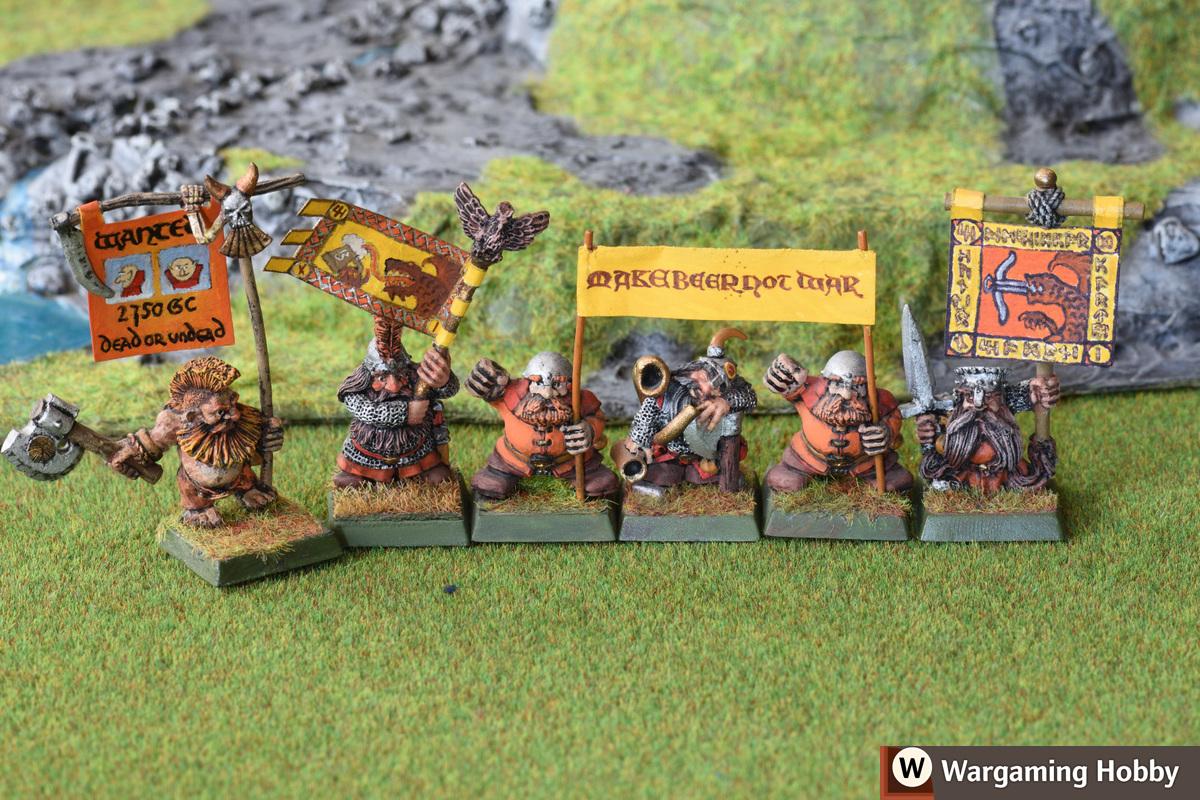 Dwarf standard bearers