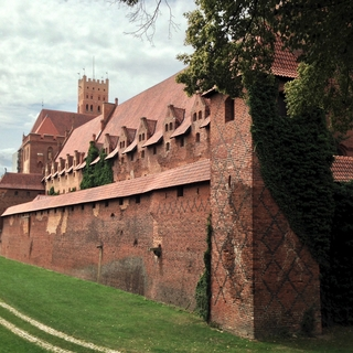 Malbork Castle (section of the Middle Castle)