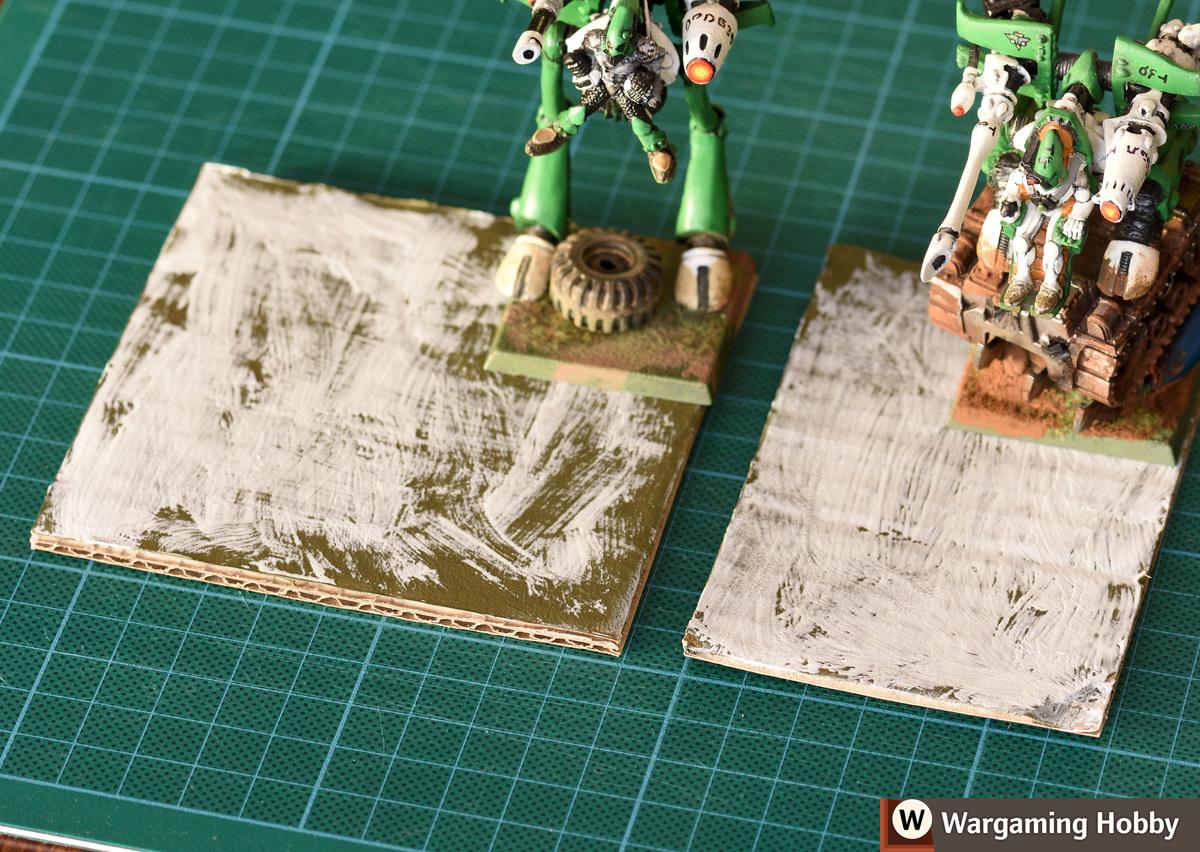 Warping caused by PVA glue