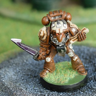 Bronze Gryphons Space Marines Librarian
