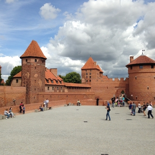 Malbork Castle (outermost gate courtyard)