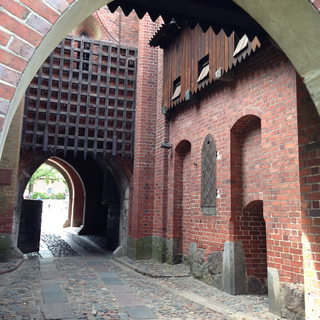 Malbork Castle (inside of the inner gate)
