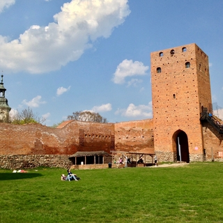 Medieval towers of the Czersk Castle