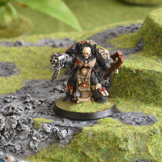 This hill is mine! -- Space Marine Chaplain