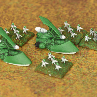 Original Epic Eldar guardians and Wave Serpents