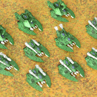 Epic Eldar Falcons and Fire Prisms from the late 90s