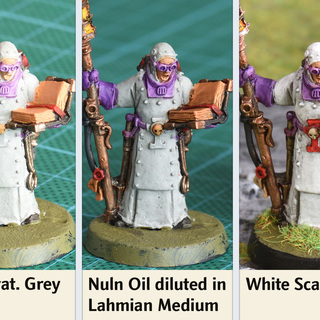 How to paint white - step by step