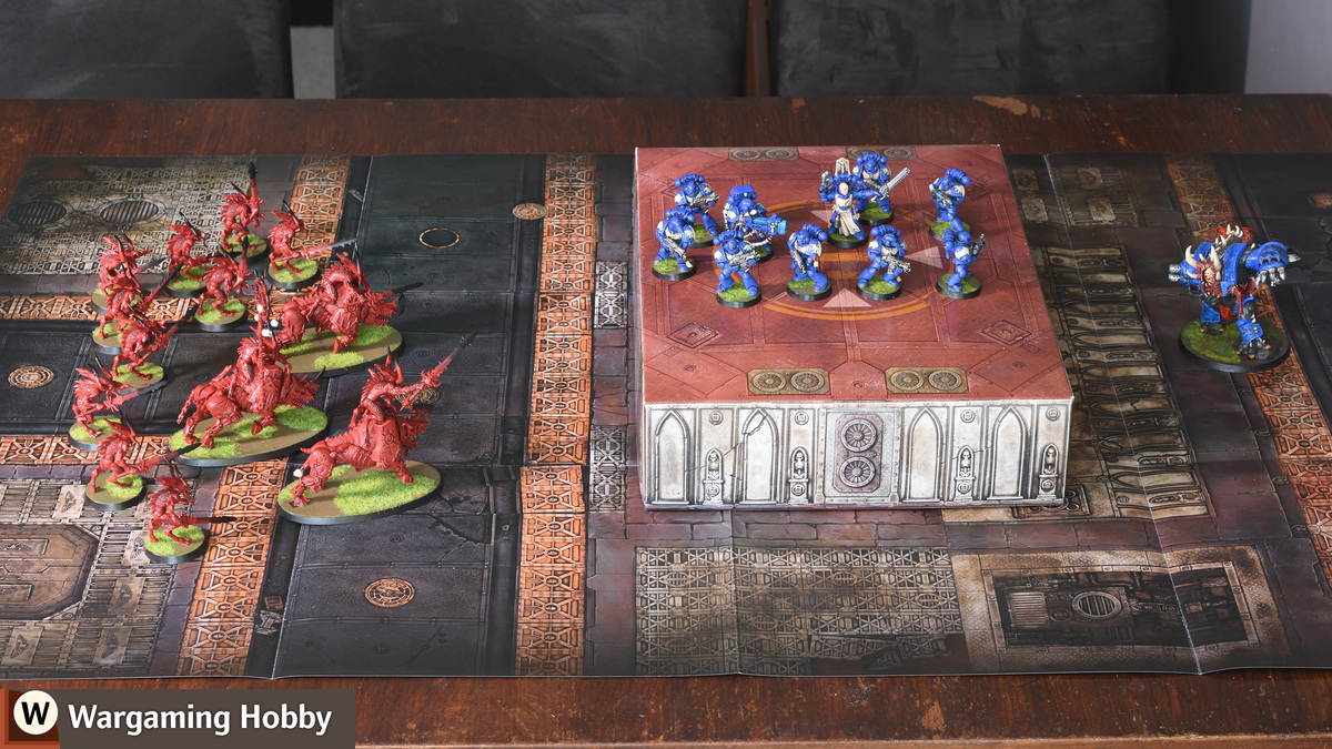"""""""Know No Fear"""" paper terrain from Games Workshop"""