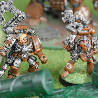 2nd and 1st edition space marine techmarines