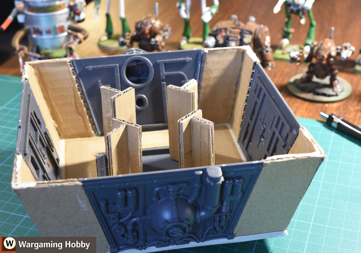Hacking the Void Shield Generator: support buttresses