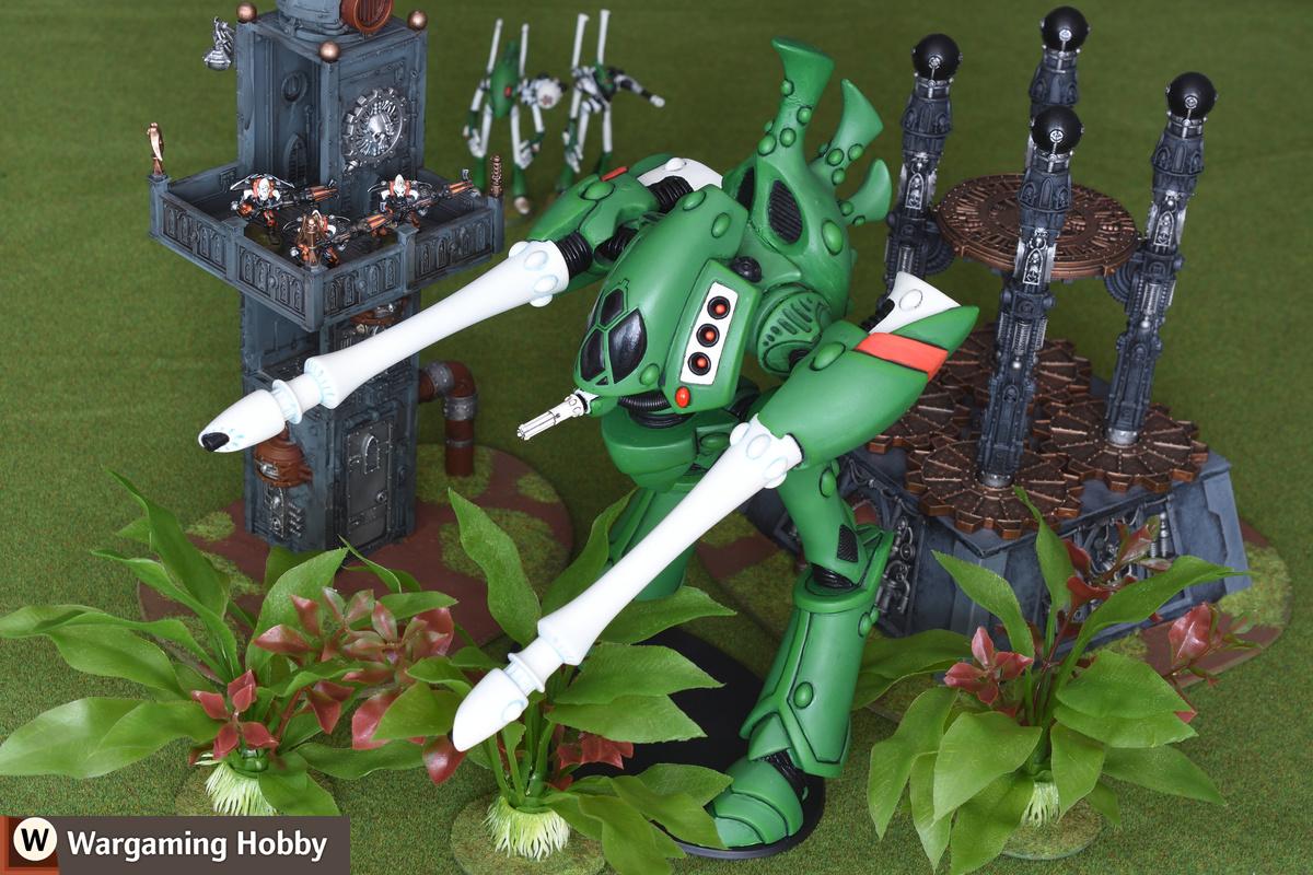 Eldar Revenant Titan from Armorcast