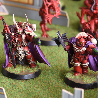 Chaos Space Marines Lords: Dark Vengeance and Betrayal of Calth