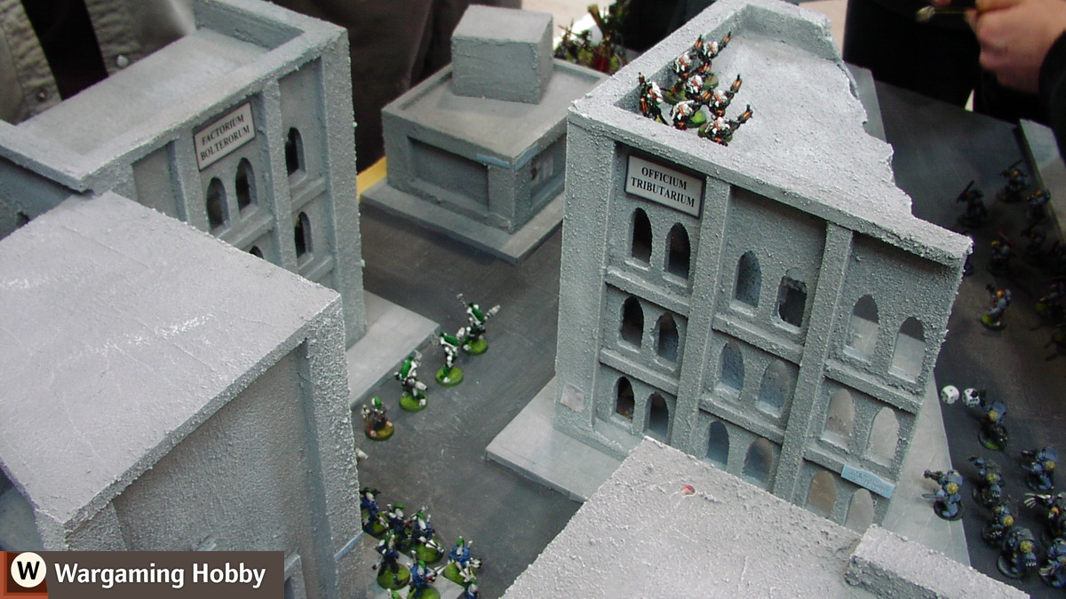 How to build a city in 3 days - Wargaming Hobby, Painting