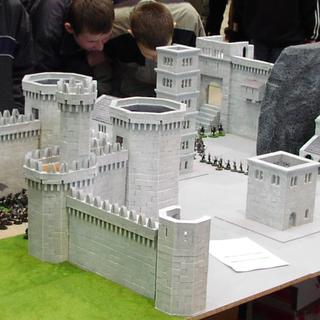 The gate of Minas Tirith