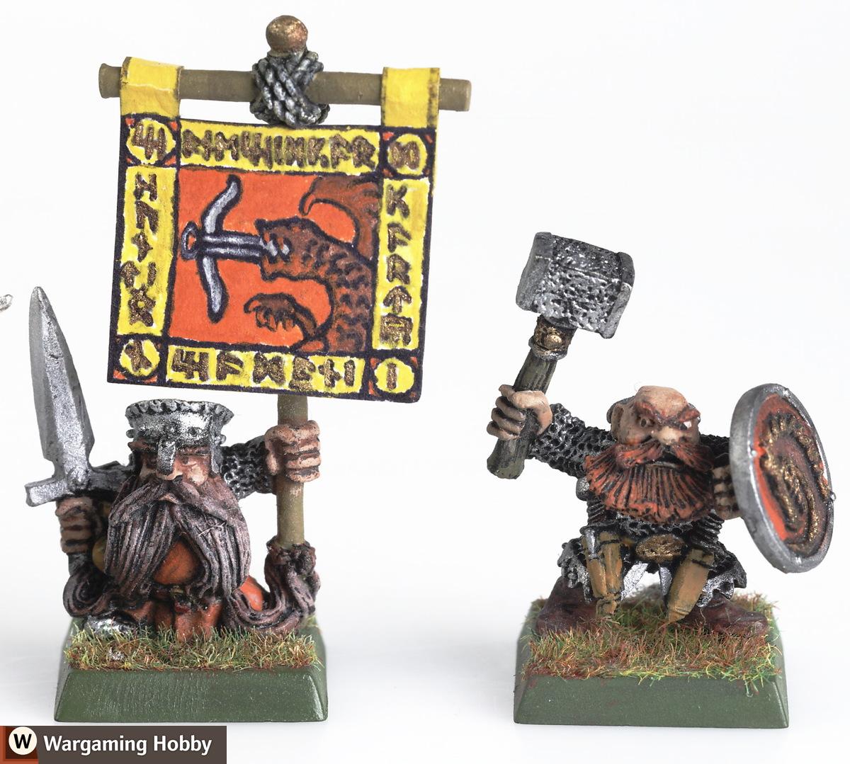 Old Warhammer dwarves